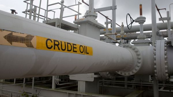 Image of crude oil pipe used for representational purpose only (REUTERS)