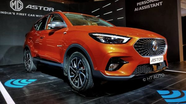 MG Astor competes in the mid-size SUV space. (HT Auto)