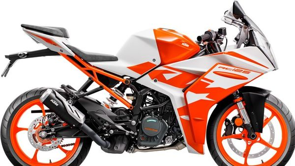 The new-gen KTM RC125 is a completely new and updated bike.