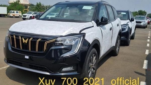 The official debut of the Mahindra XUV700 Javelin Edition is expected to take place soon. (Instagram/xuv_700_2021_official)