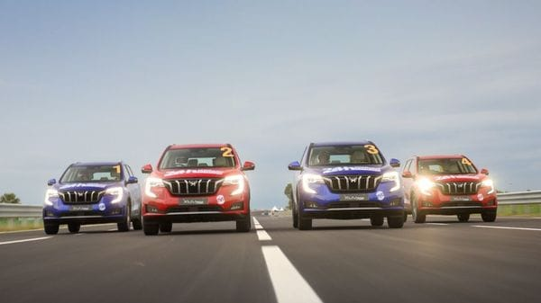 Four Mahindra XUV700 SUVs that entered the challenge clocked over 4000-km each in the event.
