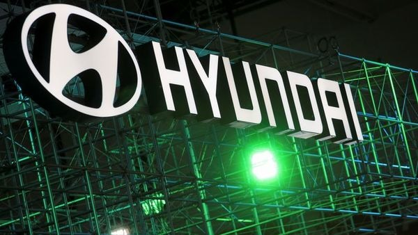 FILE PHOTO: Hyundai logo is seen during Munich Auto Show, IAA Mobility 2021 in Munich, Germany. (REUTERS)