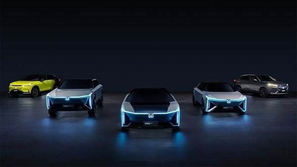 Honda's e:N Series of electrified models that it will introduce in China over the next few years.