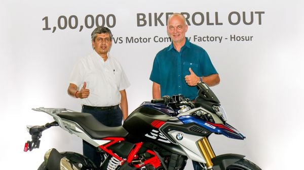 TVS Motor Company's Hosur manufacturing plant is responsible for producing 10% of BMW Motorrad's volumes globally.