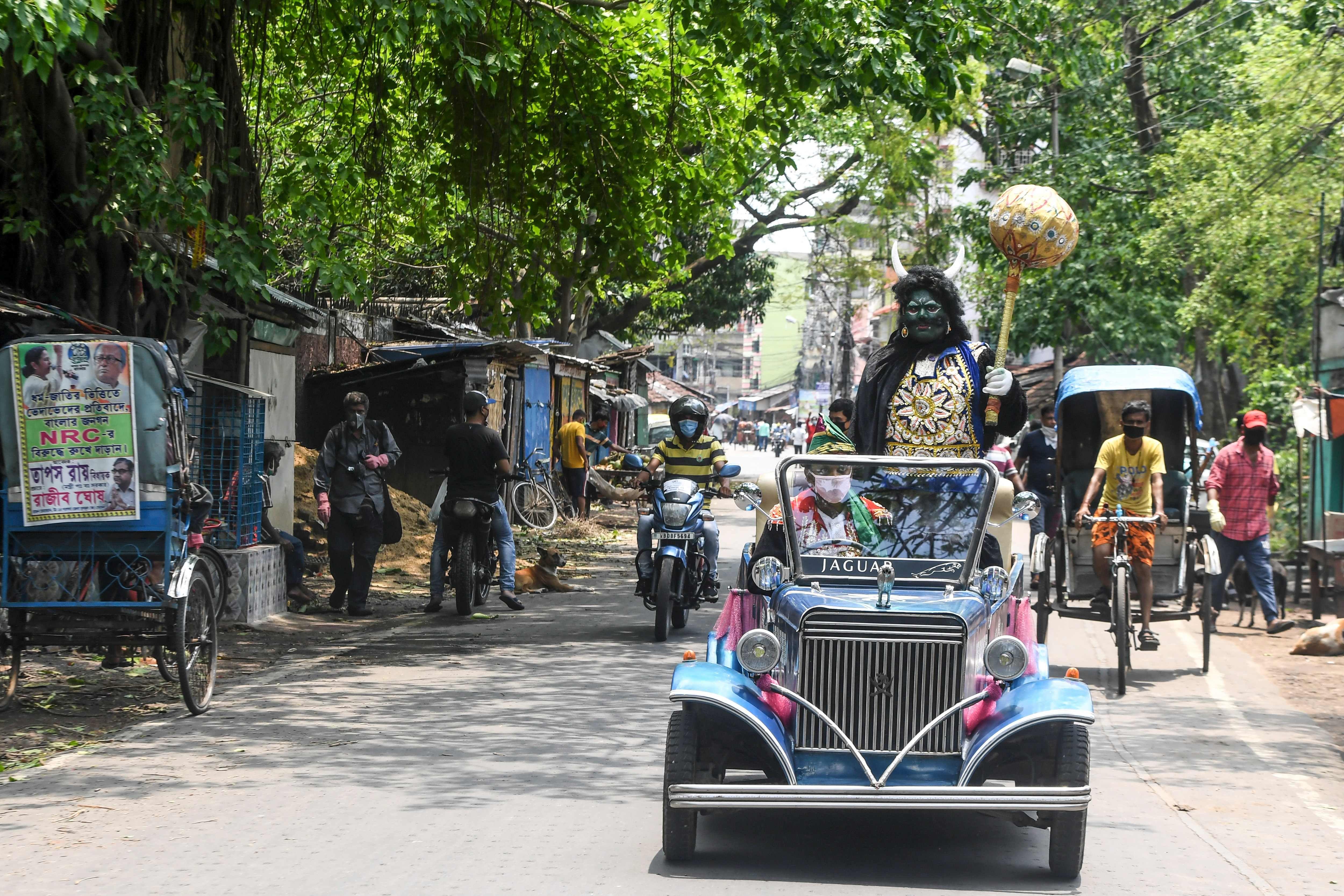 পশ্চিমবঙ্গে এখনও করোনায় মৃত ১৮ (AFP)