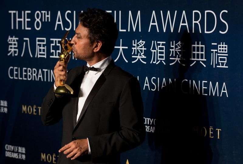 'নিউইয়র্ক, আই লাভ ইউ' (২০০৯), 'দ্য অ্যামেজিং স্পাইডারম্যান' (২০১২), 'লাইফ অব পাই' (২০১২), 'জুরাসিক ওয়ার্ল্ড' (২০১৫) এবং 'ইনফারনো' (২০১৬)-র মতো হলিউড ছবিতে অভিনয় করেছেন ইরফান খান। ২০১১ সালে ভারত সরকারের তরফে তাঁকে পদ্মশ্রী সম্মান দেওয়া হয়। (REUTERS)