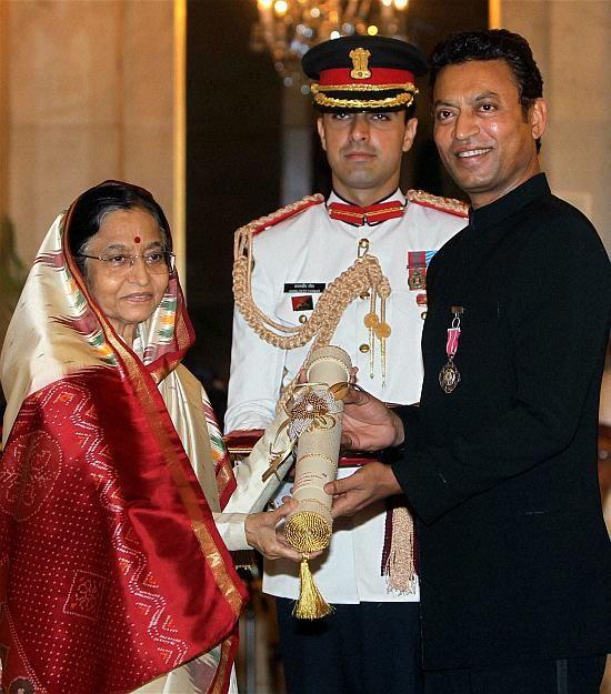 ২০১১ সালে ভারত সরকারের তরফে তাঁকে পদ্মশ্রী সম্মান দেওয়া হয়।