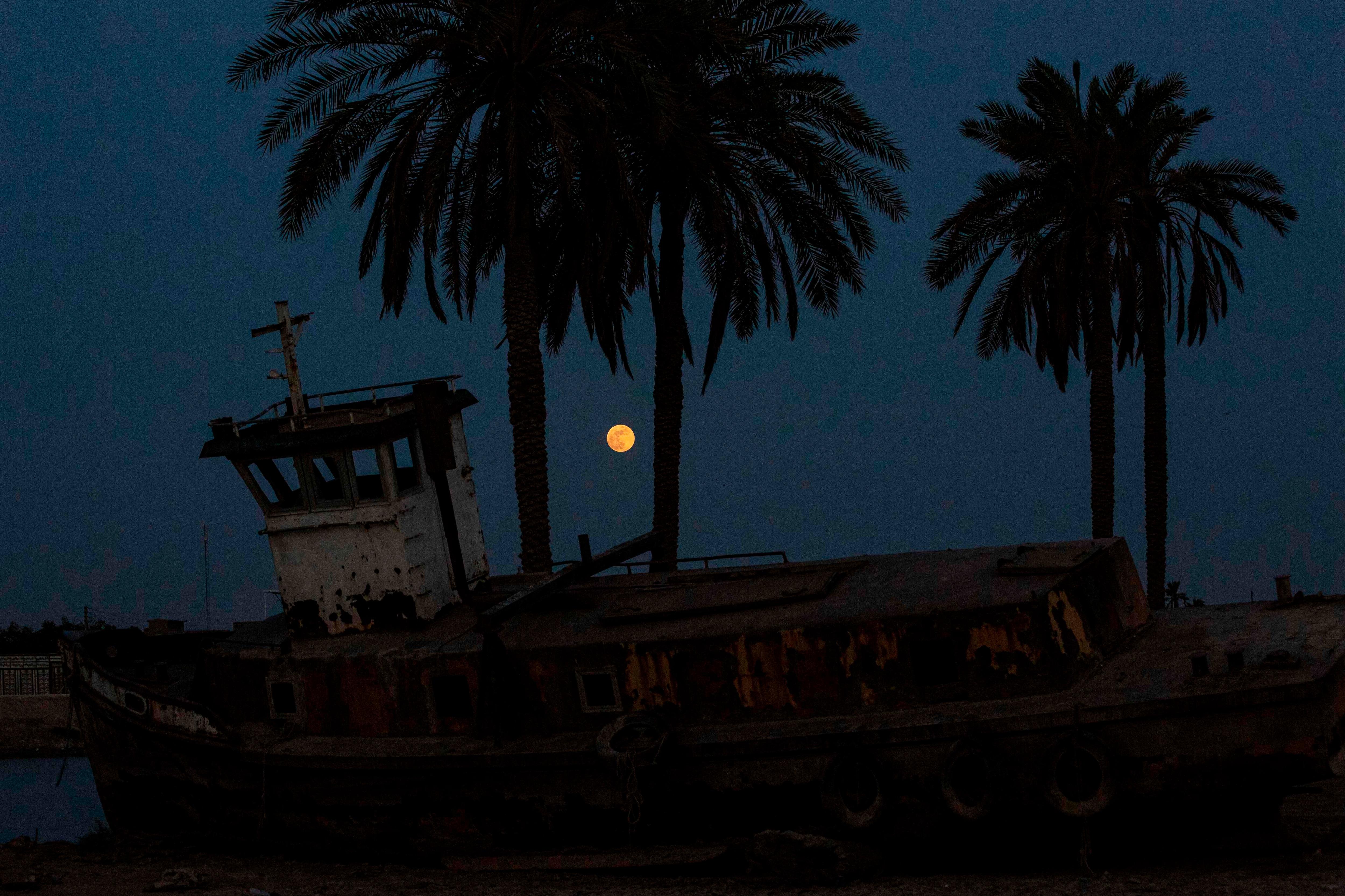 ইরাকের বাসরা শহরে। (AFP)