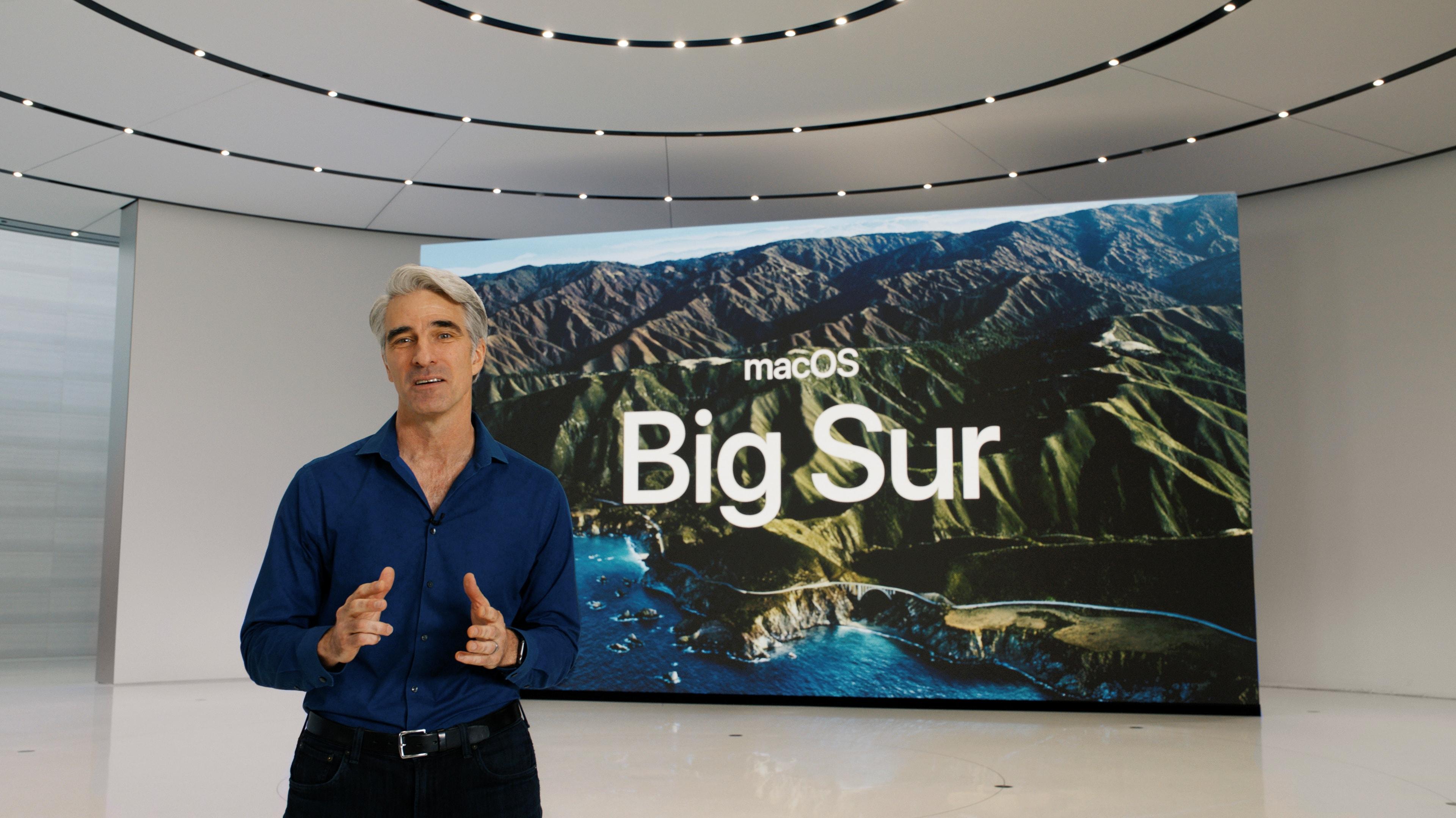macOS Big Sur-এর ঘোষণা করল অ্যাপেল। একাধিক নয়া ফিচার্স মিলবে। (ছবি সৌজন্য রয়টার্স)