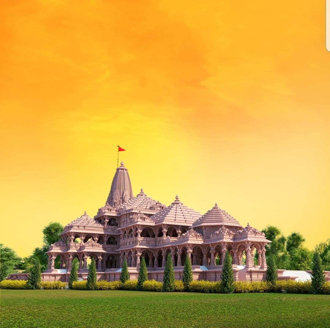শ্রীরাম জন্মভূমি মন্দিরের মাধ্যমে দেবত্ব এবং মহিমা তুলে ধরা হবে। (ছবি সৌজন্য, টুইটার @ShriRamTeerth)