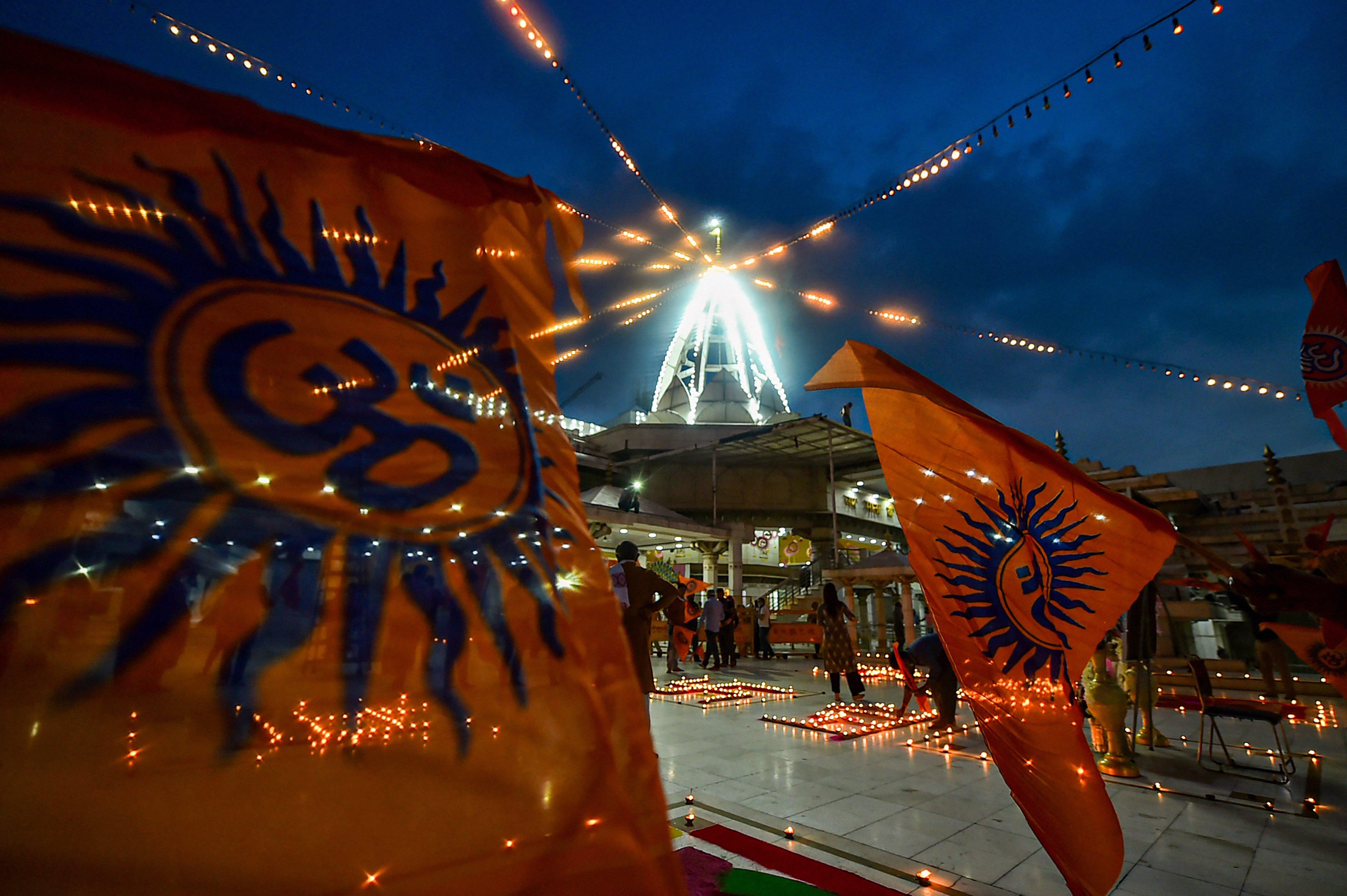 দিল্লির ঝান্ডেওয়ালা মন্দির (PTI)