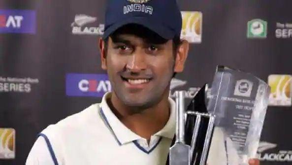 ২০০৯ সালে প্রথম ভারতীয় অধিনায়ক হিসেবে নিউজিল্যান্ড টেস্ট সিরিজ জিতেছিলেন। (ছবি সৌজন্য হিন্দুস্তান টাইমস)