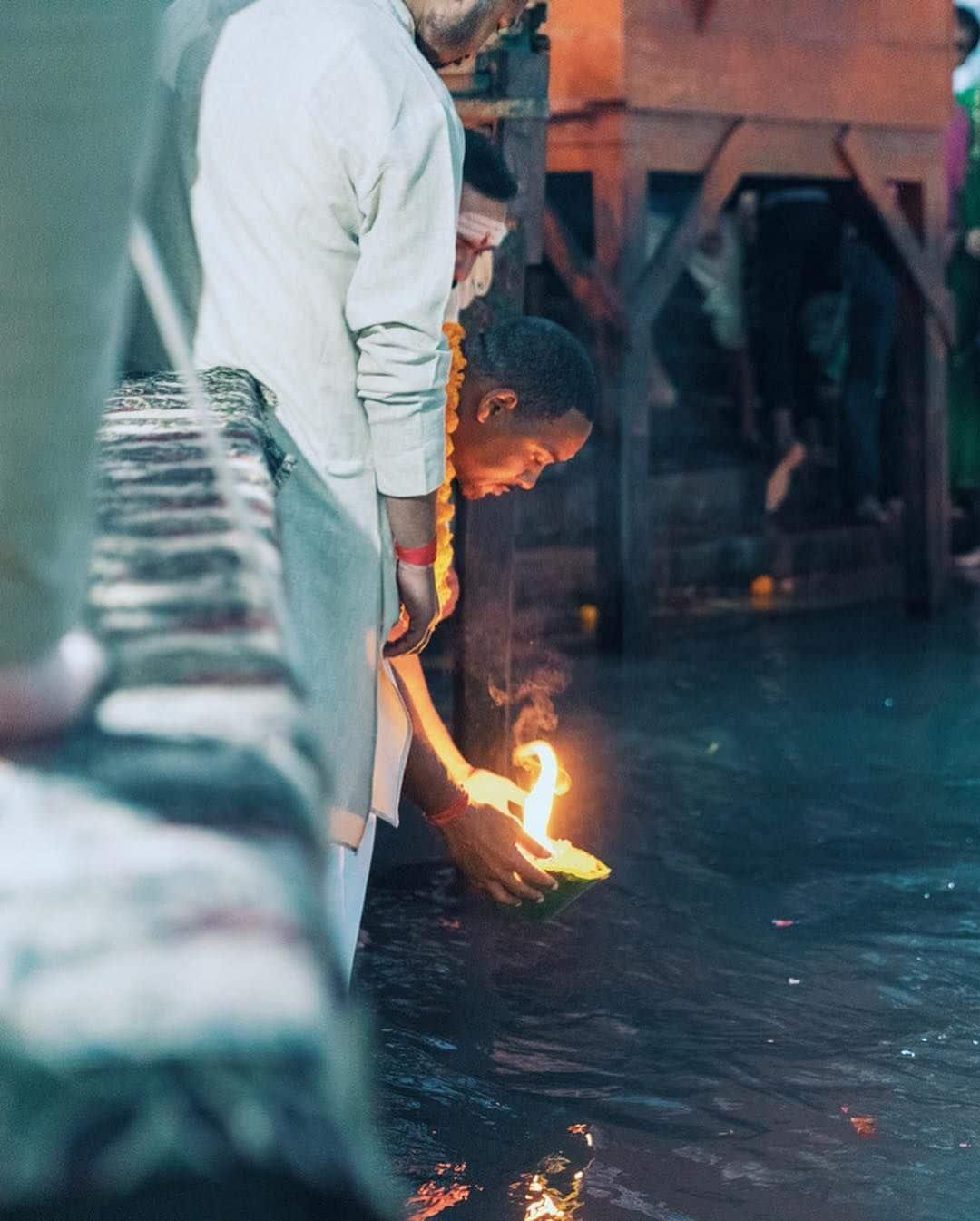 অভিজ্ঞতার মধ্য দিয়ে ভগবানের দর্শন হয়- বিশ্বাসী উইল স্মিথ। সে কথাই নিজের ভারত দর্শন সম্পর্কে বলেছেন অভিনেতা। (ছবি-ইনস্টাগ্রাম)