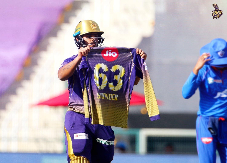 শেষপর্যন্ত ৫৩ বলে ৮১ রান করেন রানা। দীর্ঘদিন পরে ফর্মে ফিরলেন তিনি। (ছবি সৌজন্য টুইটার @KKRiders)।