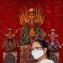 পুজোর উদ্বোধনে মুখ্যমন্ত্রী মমতা বন্দ্যোপাধ্যায়। ফাইল ছবি সৌজন্য : পিটিআই