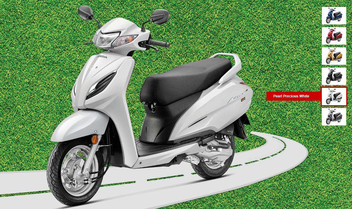 Activa 6G STD- অর্থাত্ বেস মডেলটির দাম ৬৬,৭৯৯ টাকা (এক্স-শোরুম)। এবার এতে আপনাকে ১৬,৭৯৯ টাকা ডাউনপেমেন্ট করতে হবে। সেক্ষেত্রে বাকি দাম কমে দাঁড়াল ৫০,০০০ টাকা। ছবি : হন্ডা (Honda) (Honda)