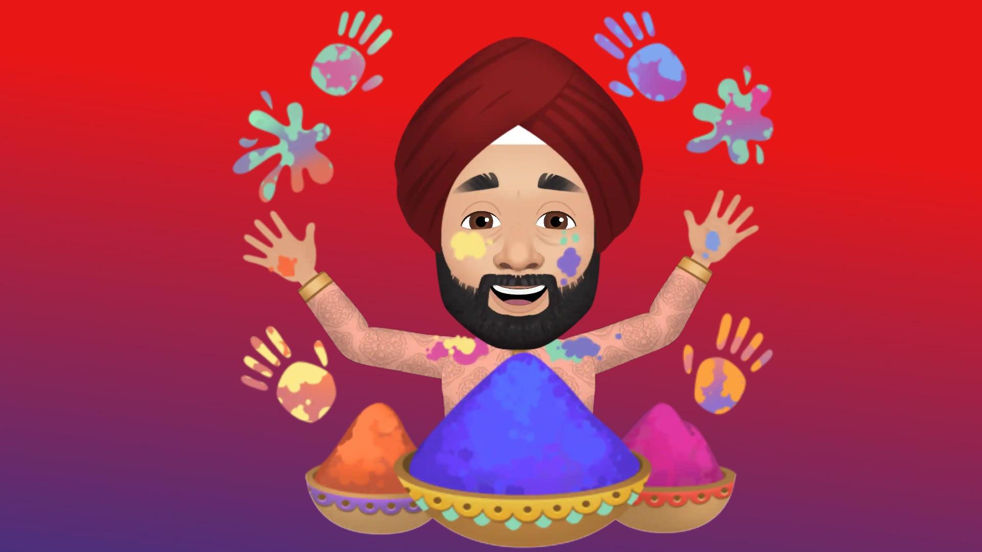সেখানেই পাবেন হোলি থিমের নতুন স্টিকার্স। মেসেঞ্জারেও সেই স্টিকার ব্যবহার করতে পারবেন। ছবি : ফেসবুক (Facebook)