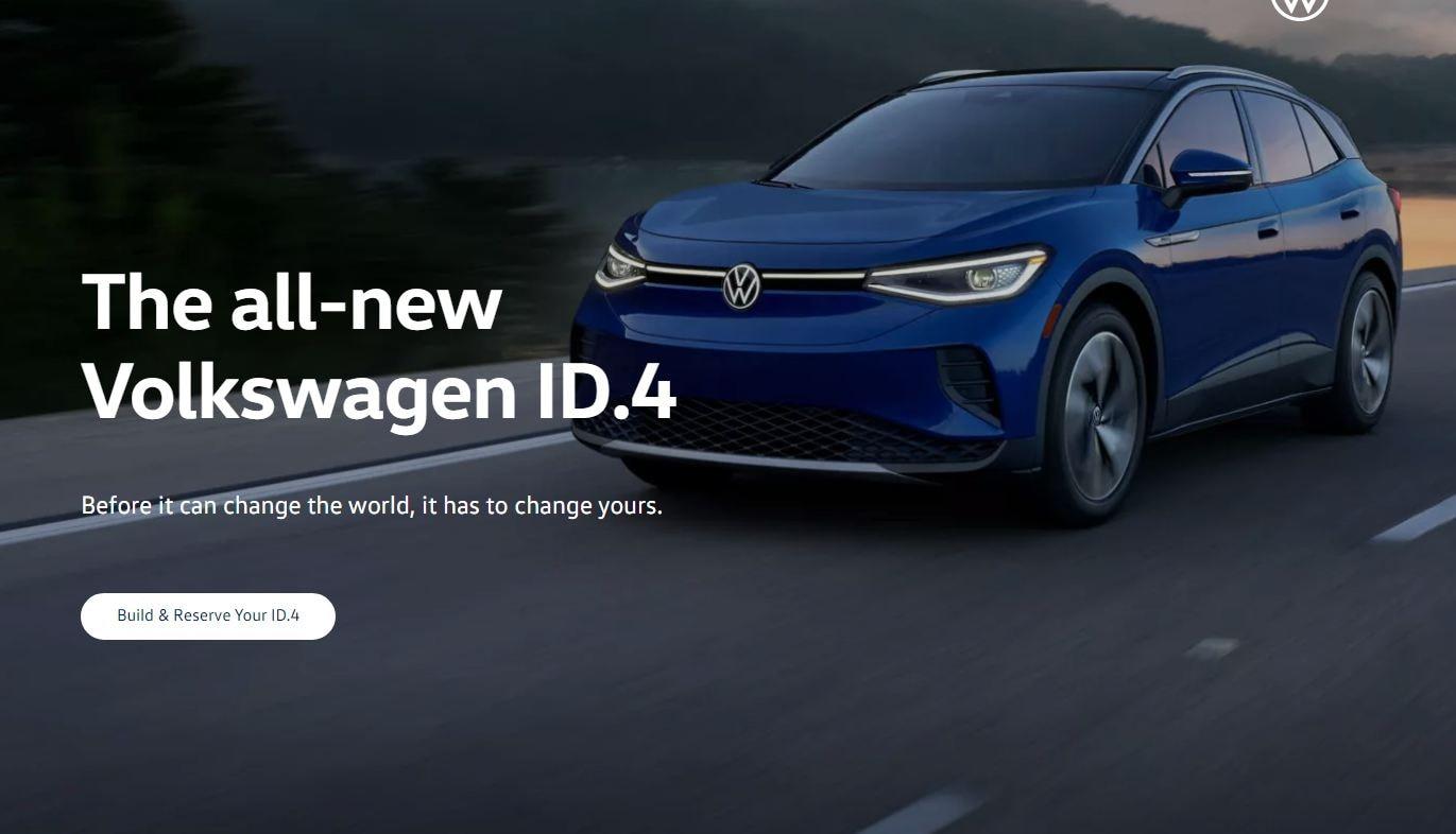 অন্যদিকে নতুন ID.4 ইলেকট্রিক SUV-রও বুকিং শুরু হয়েছে মার্কিন যুক্তরাষ্ট্রে। এটিই আপাতত মার্কিন মুলুকে সংস্থার একমাত্র ইলেকট্রিক গাড়ি। তবে খুব শীঘ্রই আরও কয়েকটি ইলেকট্রিক গাড়ি বাজারে আসতে পারে বলে খবর। ফাইল ছবি : Volkswagen (Volkswagen)