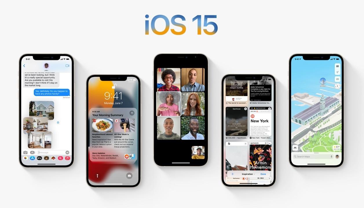 আইওএস (iOS 15) : প্রকাশ করা হল আইফোনের নয়া অপারেটিং সিস্টেম। বিভিন্ন দিক থেকে সেই অপারেটিং সিস্টেম আরও উন্নত হয়েছে। ফেসটাইম (FaceTime) অনেক বেশি উন্নত হয়েছে। একই সময় অনেকের সঙ্গে কথা বলার জন্য গ্রিড ভিউ হয়েছে। ওয়েব ব্রাউজারের মাধ্যমে অ্যান্ড্রয়েড এবং উইন্ডোজ অপারেটিং সিস্টেমে ফেসটাইম কাজ করবে। অ্যাপল ব্যবহারকারীরা এবার আগেভাগেই ফেসটাইম 'শিডিউল' করতে পারবেন। তাছাড়া শেয়ার টাইম (ShareTime) নামক একটি ফিচার্সের মাধ্যমে ব্যবহারকারীরা স্ক্রিন বা গান শেয়ার করতে পারবেন। (ছবি সৌজন্য অ্যাপল)
