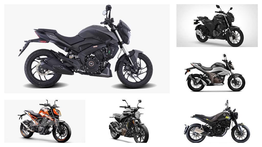এই সেগমেন্টেই অন্যান্য বাইক হল Yamaha FZS-25 এবং KTM 200 DUKE। ফাইল ছবি : টুইটার (Twitter)