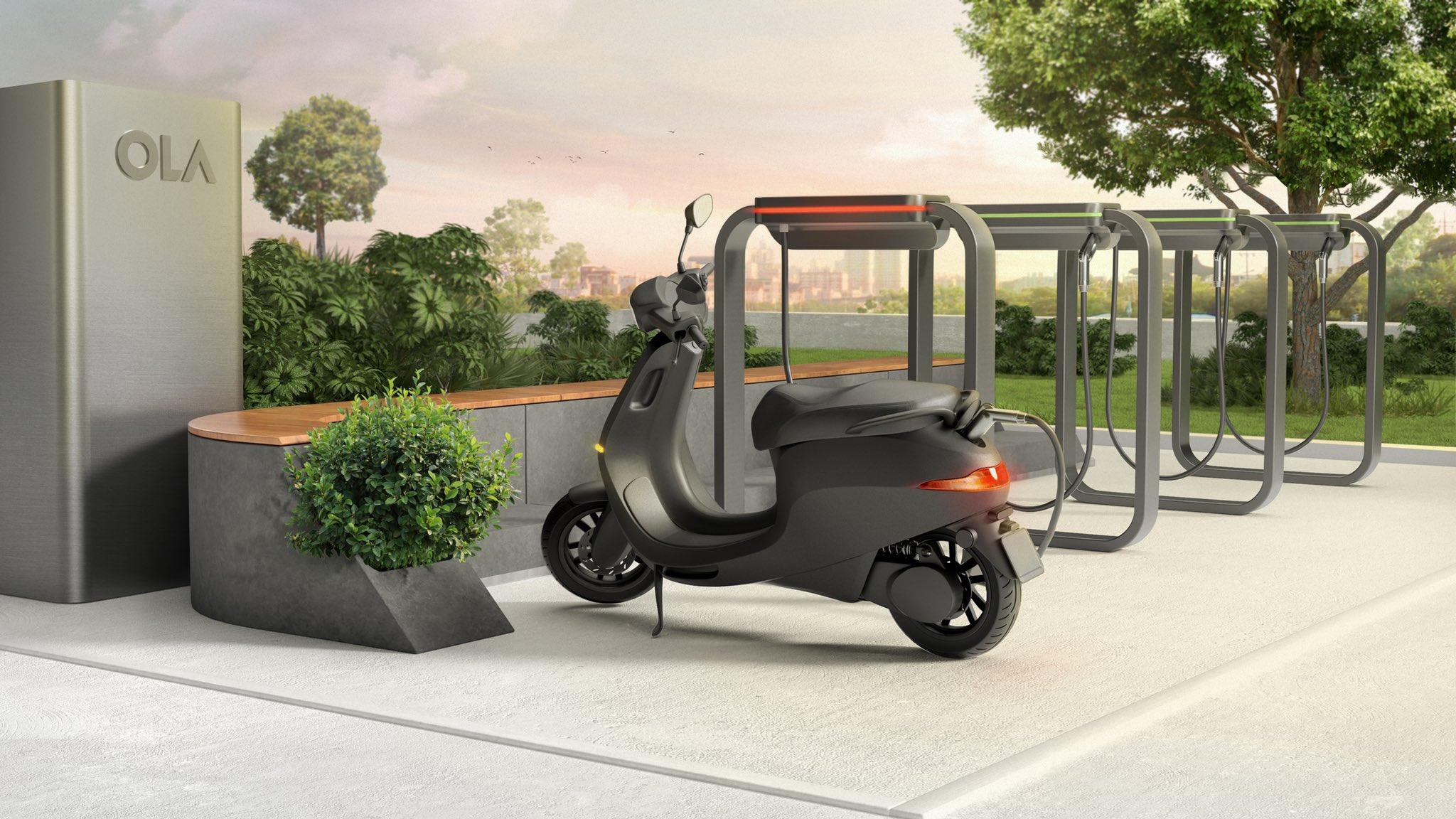 ১৮ মিনিটের চার্জে যাবে ৭৫ কিমি - ৪৯৯ টাকায় বুকিং করা যাচ্ছে Ola electric scooter (ছবি সৌজন্য টুইটার)