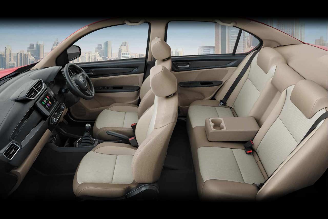 Honda Amaze-এর দাম শুরু হচ্ছে ৬.৩২ লক্ষ টাকা (এক্স-শোরুম) থেকে। ফাইল ছবি : হোন্ডা (Honda)