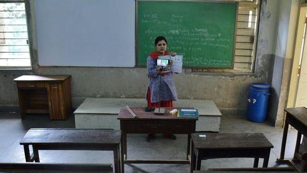 সরকারি প্রাথমিক বিদ্যালয়ে প্রধান শিক্ষকের নতুন পদ সৃষ্টিরও অনুমোদন দিয়েছে নীতিশের ক্যাবিনেট। প্রতীকী ছবি: হিন্দুস্তান টাইমস (HT_PRINT)