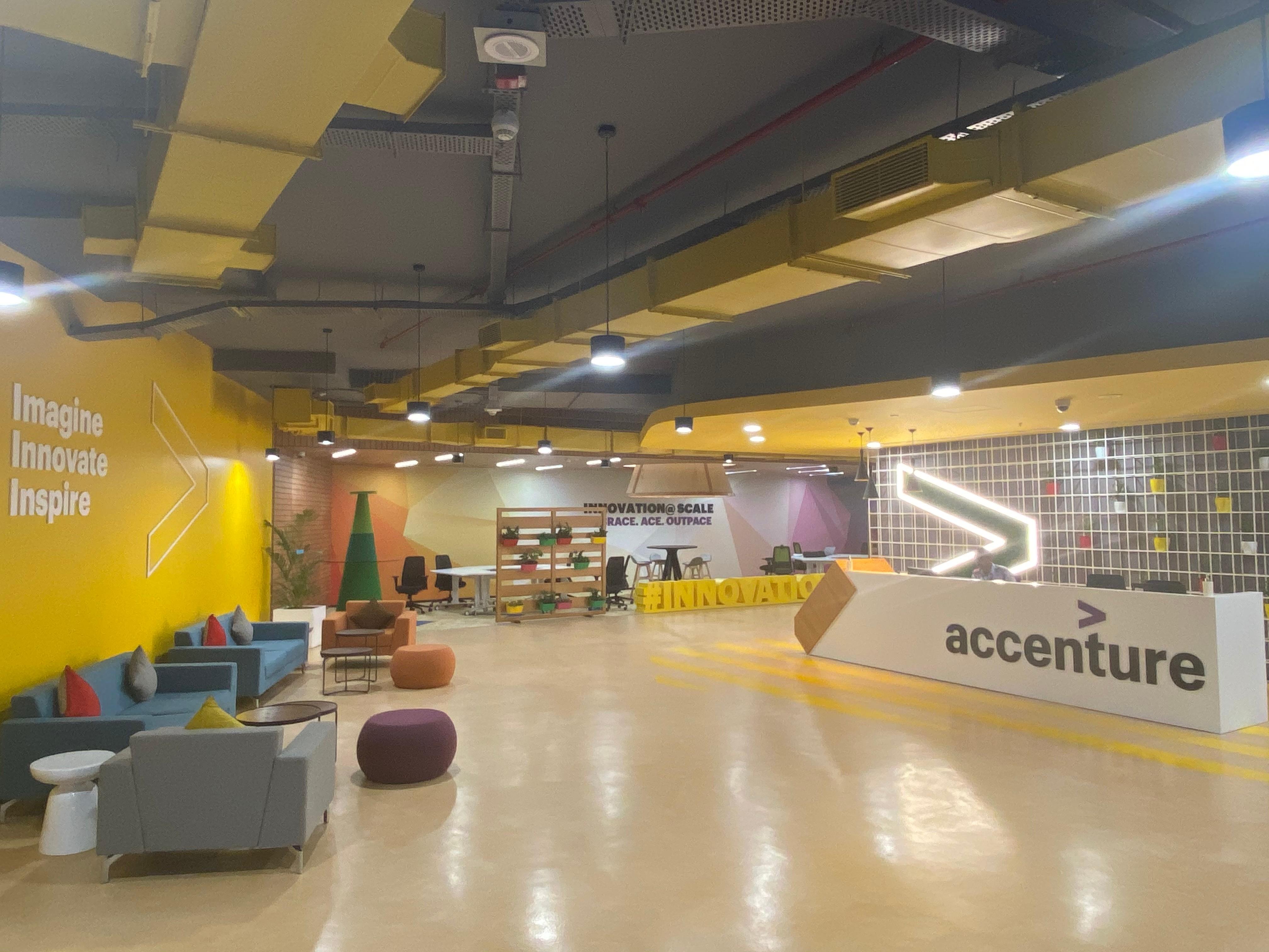 Accenture বিশ্বের অন্যতম বৃহত্ আইটি সংস্থা। ফাইল ছবি : অ্যাকসেঞ্চার (Accenture)