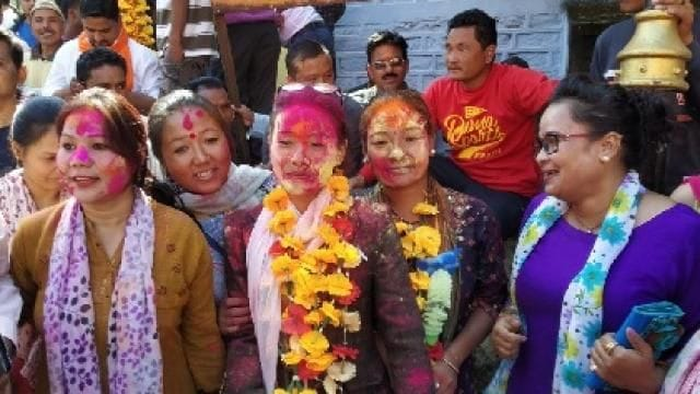 <p>Nekana gram sabha candidate wins by 2 votes</p>