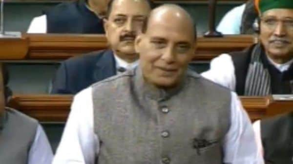 'Our forces vigilant and protecting our borders': Rajnath Singh in LS