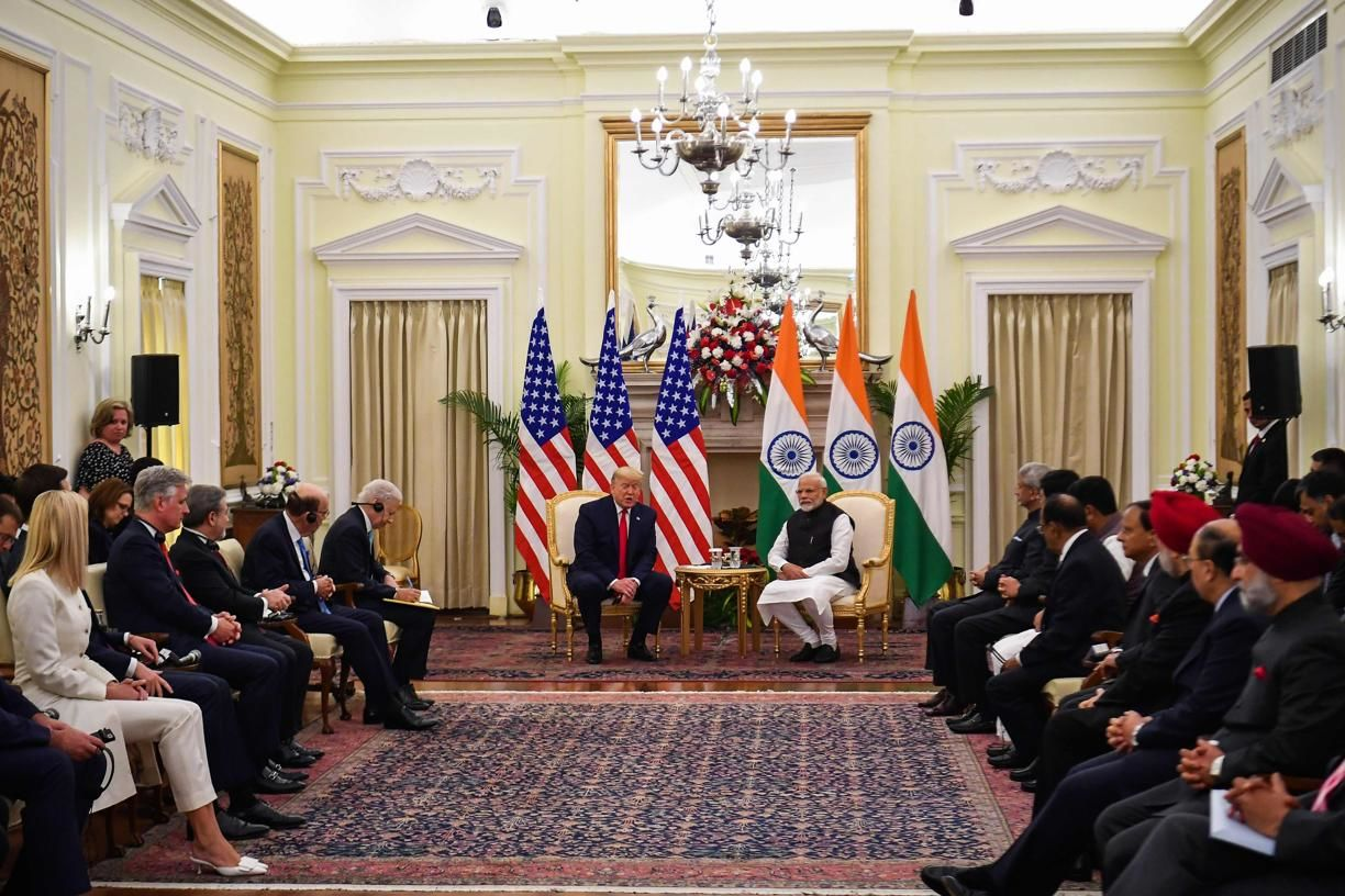 <p>Thanks for visiting India, PM Modi to Trump as the two hold talks</p>