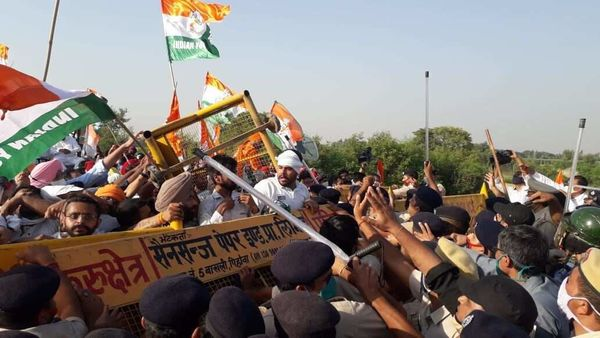 Farm bill protest highlights: Rahul Gandhi likely to address farmers in Pehowa