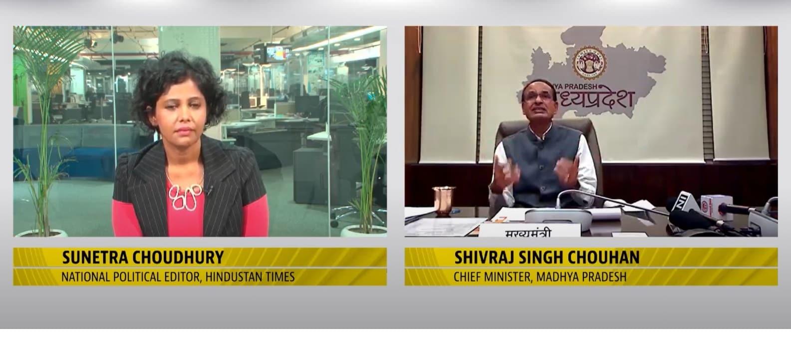 <p>Built Covid infrastructure single-handedly: Shivraj Chouhan</p>
