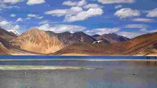 Heights on both banks of the Pangong lake have been at the centre of the border row between India and China. (AP File Photo )