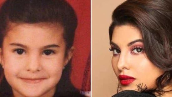 Jacqueline Fernandez looked so cute as a child.