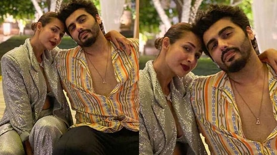 """Malaika and Arjun welcomed the New Year in Goa. Sharing her first picture of the year with Arjun, she wrote, """"It's a new dawn ,it's a new day , it's a new year ..... 2021 #eternallygrateful."""""""