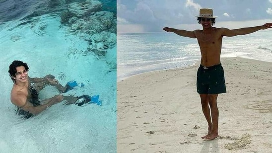 Ishaan Khatter flew to Maldives with his Khaali Peeli co-star Ananya Panday. The two rang in the new year amid the sea and sand and pictures shared by Ishaan are proof he had a total blast on his first 'proper holiday'.