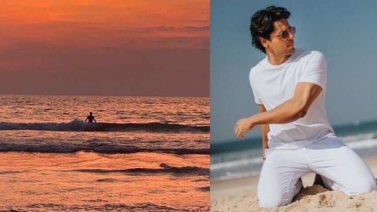 Sidharth Malhotra is believed to have flown to Maldives with rumoured girlfriend Kiara Advani. Sharing his solo pictures from the vacation, he called himself 'son of a beach'.