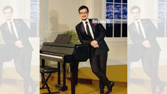 William Richmond Basaiawmoit was spotted by 'Uncle Neil' (Neil Nongkynrih, founder of Shillong Chamber Choir), when he was back home for the summer break while pursuing English Honours from Delhi University's St Stephen's College. (Baia Marbaniang)