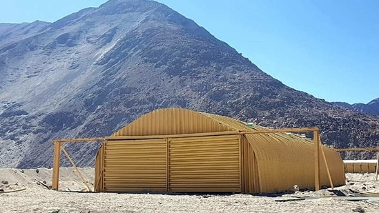 The Him Tapak space heating device (Bukhari) has been developed for the Indian Army deployed in Eastern Ladakh, Siachen and high altitude areas
