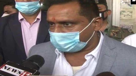 Jharkhand's health minister Banna Gupta ruled out any political differences or political ambitions over the Covid-19 vaccination issue. (ANI Photo )