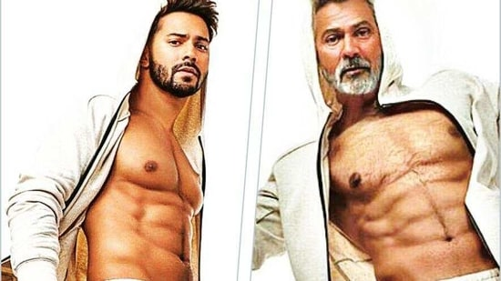 Varun Dhawan was one of the many stars who used FaceApp to picture himself as an older man(Instagram: @varundvn)