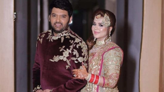 Kapil Sharma and Ginni Chatrath got married in 2018.