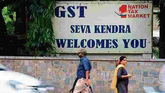 Armed with a list of over 6,600 business entities evading GST, the government launched a massive crackdown against GST frauds in November.(HT file photo)