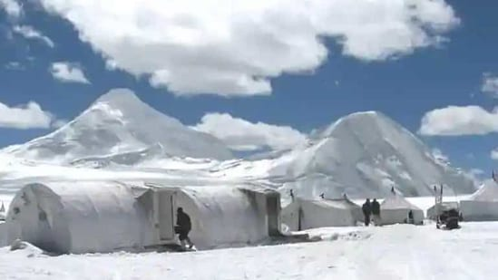 The Indian Army is not only defending the Ladakh LAC but also keeping a close watch on PLA moves in Central, Sikkim and Eastern sectors with the Chinese army continuing to build military infrastructure in Tibet.(Twitter/@ADGPI)