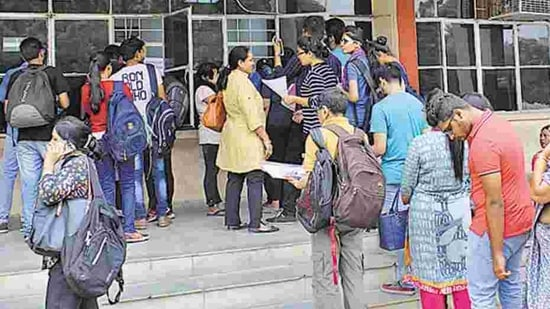 While the college managed to enrol five students in the programme in 2019, none opted for it this in 2020 even as the admission process concluded on December 31. (Representative Image)(Anupam Prashant Minz/HT PHOTO)