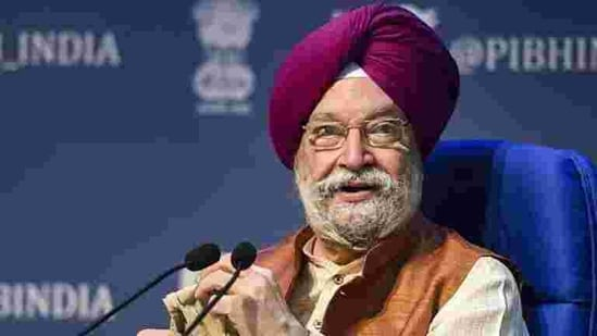 Union civil aviation minister Hardeep Singh Puri further said that there were 4,360 flight movements across the country and 5,46,763 footfalls at the airport on the day.(PTI)