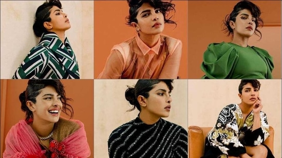 Priyanka Chopra Jonas' killer looks from latest photoshoot sizzle up the Internet, Alia Bhatt-Mindy Kaling react(Instagram/priyankachopra)