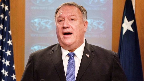 In a speech to the National Press Club just, Pompeo attacked Iran for alleged secret ties with Al-Qaida, citing newly declassified intelligence suggesting Tehran harbored the group's No. 2, Abu Muhammad al-Masri, who was killed in August, reportedly by Israeli agents.(Reuters File Photo )
