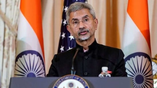 Minister of external affairs Subrahmanyam Jaishankar.(Reuters File Photo )